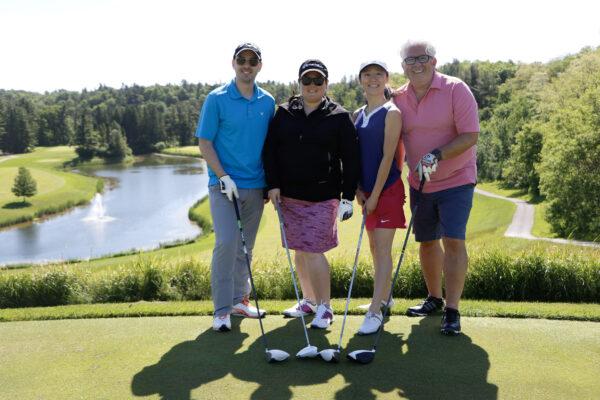 Dancap Team Playing Golf on Golf Day